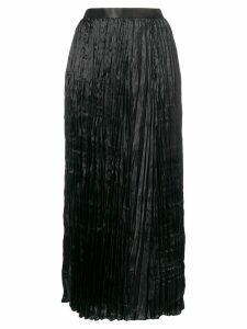 Junya Watanabe high-waist pleated skirt - Black