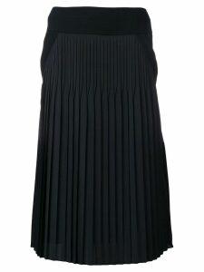 Givenchy mid-length contrast skirt - Black