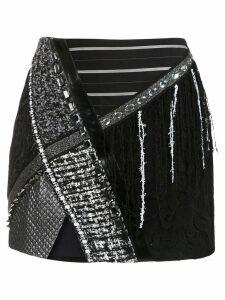 Martha Medeiros Bárbara skirt - Black