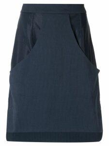 Olympiah high waisted skirt - Blue