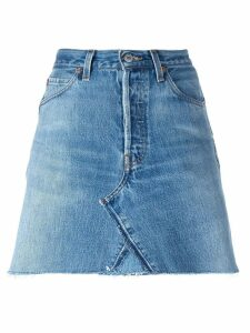 Re/Done denim skirt - Blue