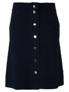 Allude buttoned skirt - Blue
