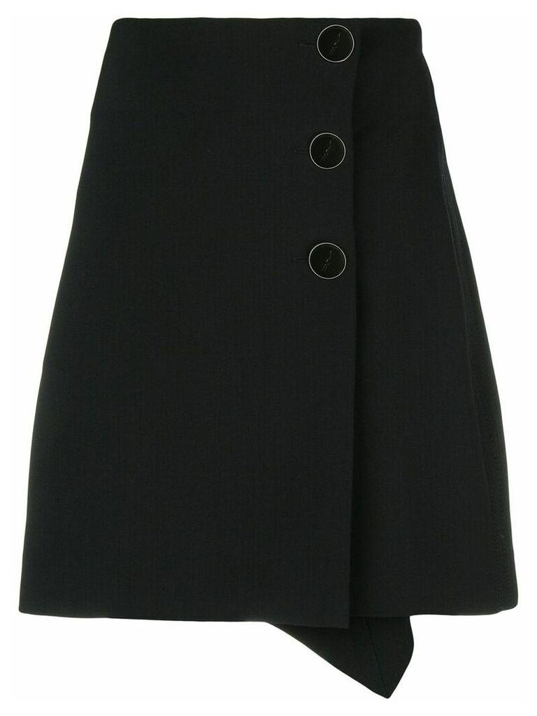 Victoria Victoria Beckham asymmetric skirt - Black