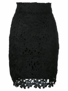 Bambah lace mini skirt - Black