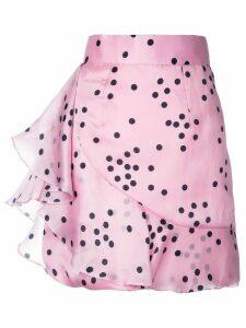 Bambah polka ruffle skirt - Pink Polka
