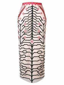 Temperley London Canopy pencil skirt - Pink