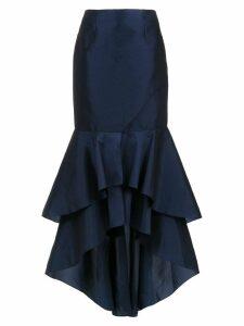 Tufi Duek long embroidered skirt - Blue