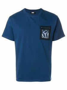 Dust clear patch pocket T-shirt - Blue