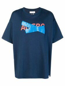 Facetasm oversize T-shirt - Blue