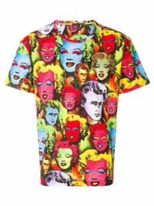 Versace Pop Art print Tribute T-shirt - Multicolour