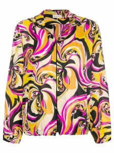 Emilio Pucci printed jacket - Yellow
