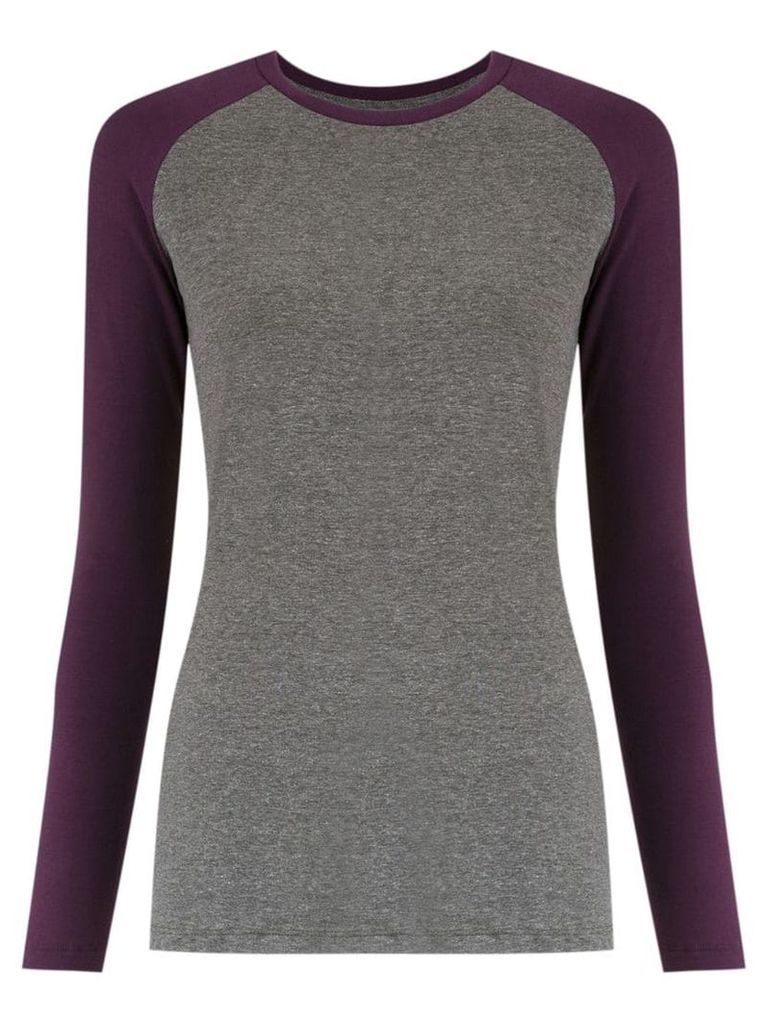 Track & Field long sleeves blouse - Grey