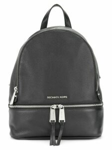 Michael Michael Kors multi-zips backpack - Black