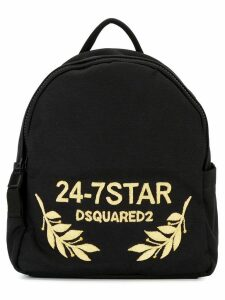 Dsquared2 24-7 STAR logo backpack - Black