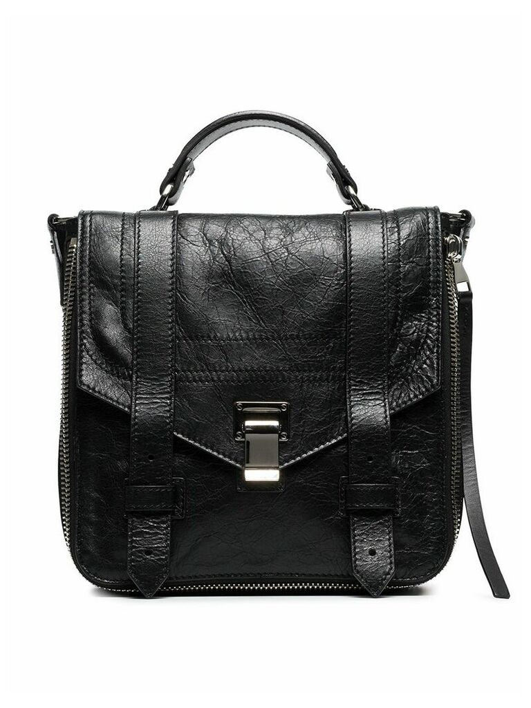Proenza Schouler Zip PS1+ Backpack - Black