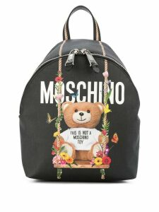 Moschino toy bear backpack - Black
