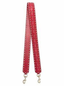 Valentino Valentino Garavani Rockstud Spike bag strap - Red