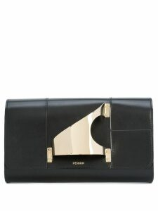 Perrin Paris L'Eiffel clutch - Black