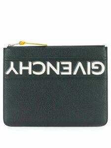 Givenchy logo stripe pouch - Black