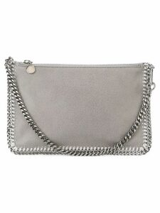 Stella McCartney Shaggy Deer Falabella clutch - Grey