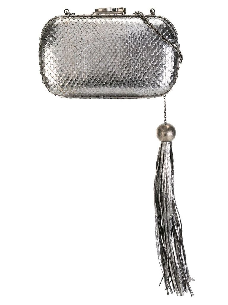 Corto Moltedo Susan clutch bag - Metallic