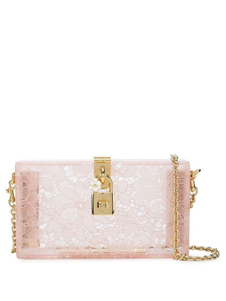 Dolce & Gabbana Dolce Box clutch - Neutrals