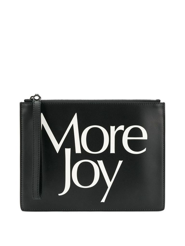 Christopher Kane 'More Joy' clutch - Black