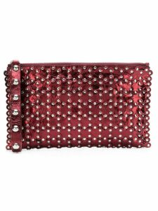 Red Valentino RED(V) studded clutch bag