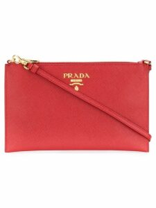 Prada Saffiano clutch - Red