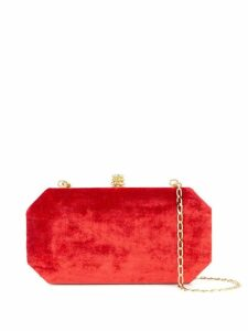 Tyler Ellis small Perry clutch - Red