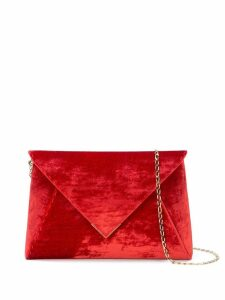 Tyler Ellis Lee Pouchet large clutch - Red