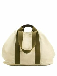 Holland & Holland oversized weekend holdall - Neutrals