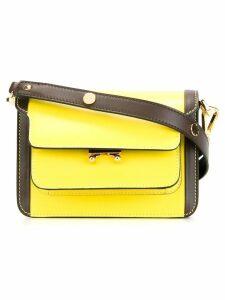 Marni Trunk mini shoulder bag - Yellow