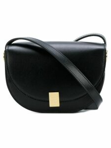 Victoria Beckham contrast satchel - Black