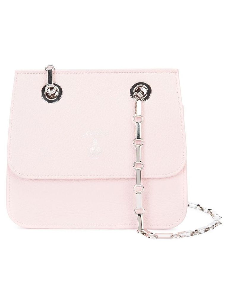 Mark Cross small chain flap bag - Pink