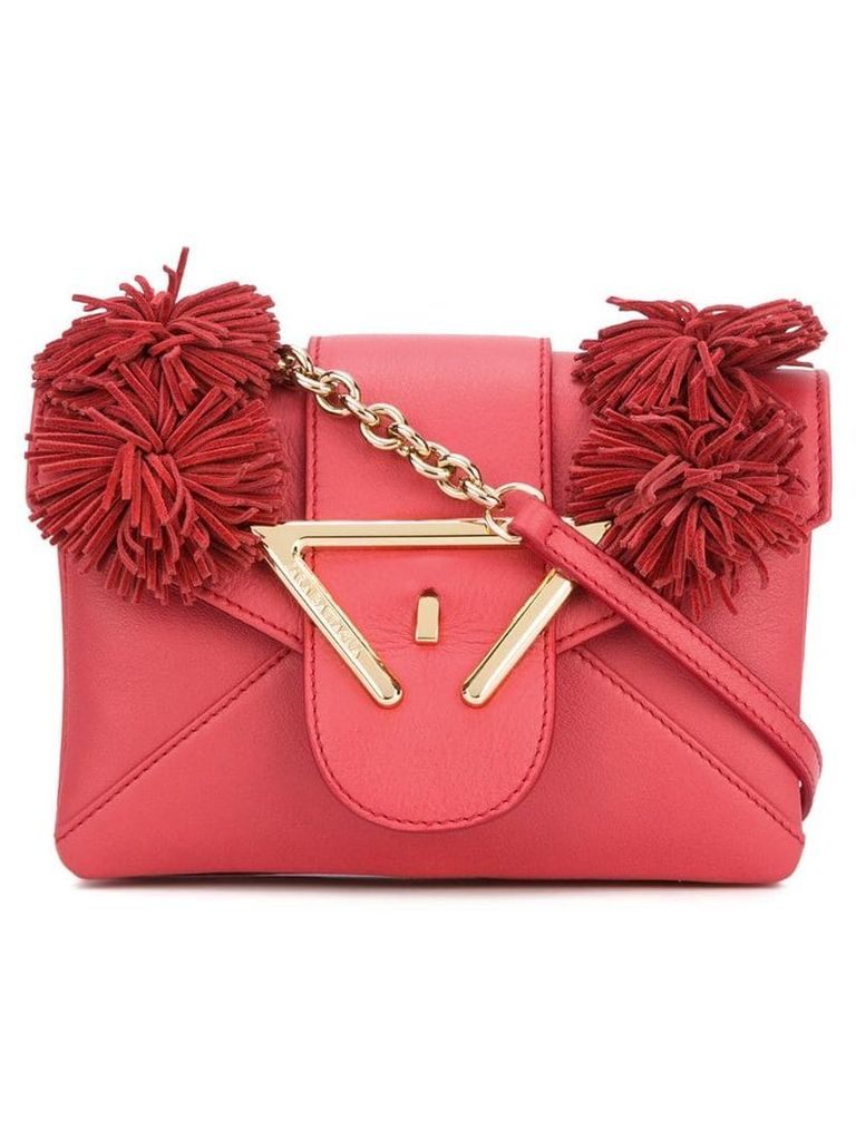 Sara Battaglia Roxy crossbody bag - Red