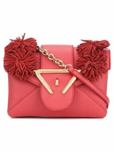 Sara Battaglia Roxy crossbody bag - Red