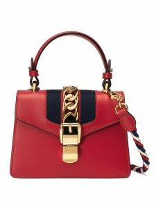 Gucci Sylvie leather mini bag - Red