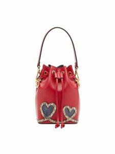 Fendi Mon Tresor mini bag - Red