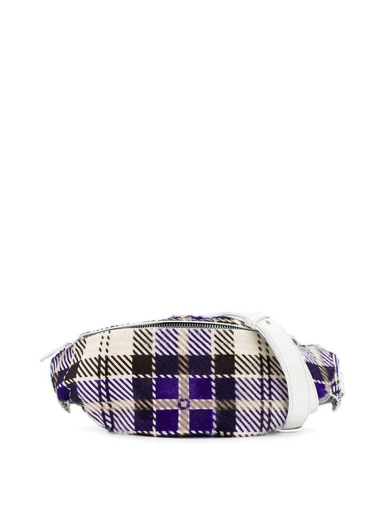 Manokhi checked belt bag - Multicolour