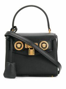 Versace lock medal bag - Black