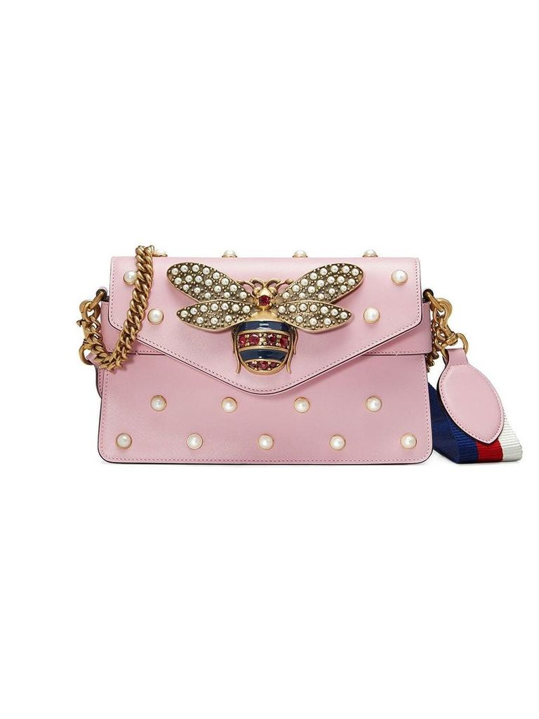 Gucci Broadway leather mini bag - Pink