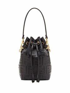 Fendi black Mon Tresor mini leather bag