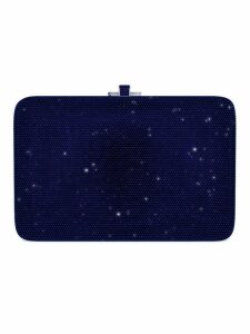 Judith Leiber Couture Slim Slide Customizable Monogram bag - Blue