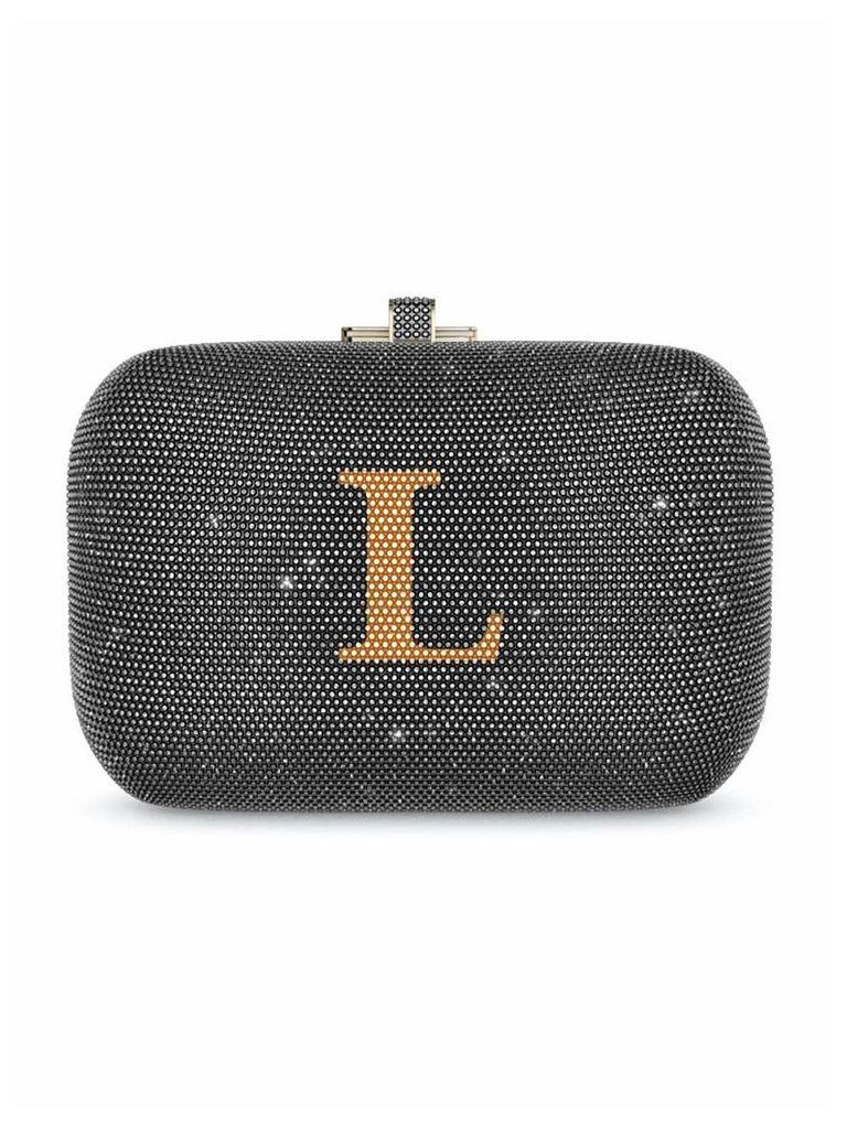 Judith Leiber Couture Slide Lock bag - Grey