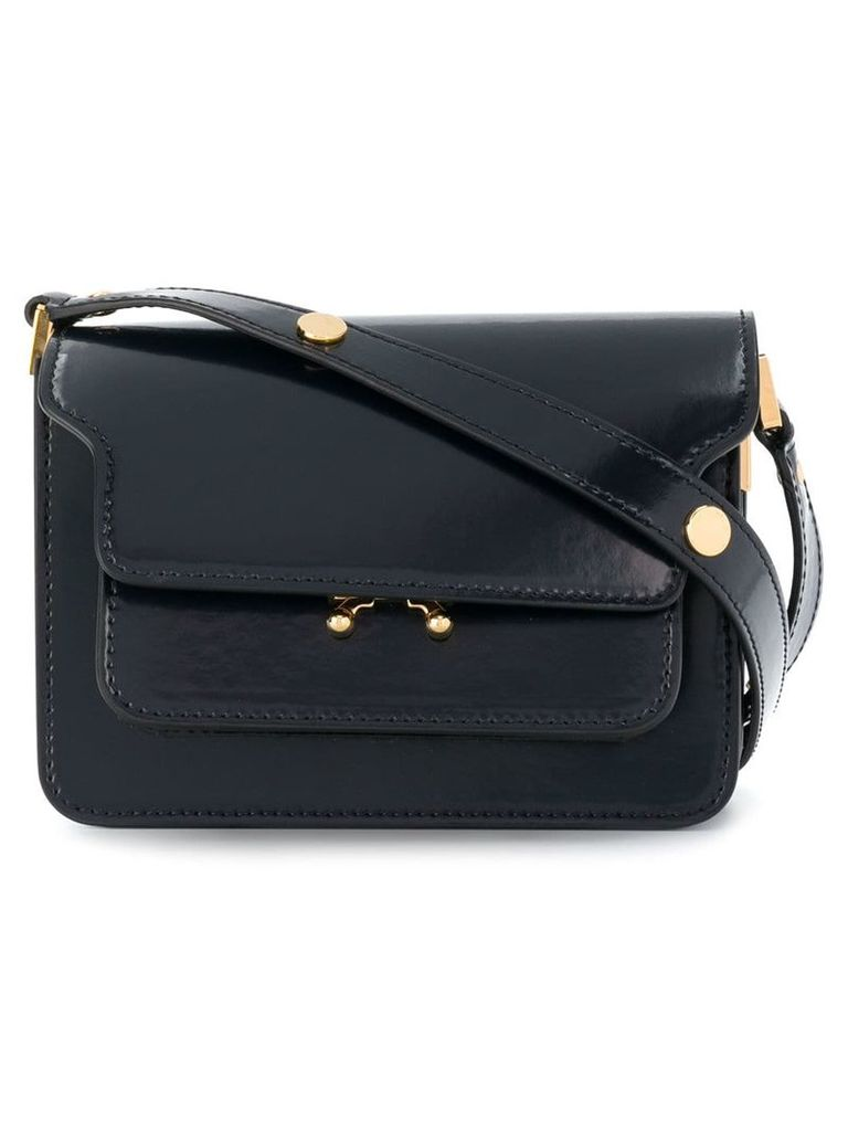 Marni mini Trunk shoulder bag - Blue
