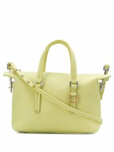 Rick Owens top handle zipped tote - Yellow