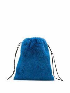 Simonetta Ravizza Furrissima mini backpack - Blue
