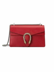 Gucci Dionysus leather shoulder bag - Red