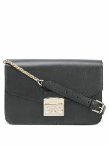 Furla rectangular Metropolis bag - Black